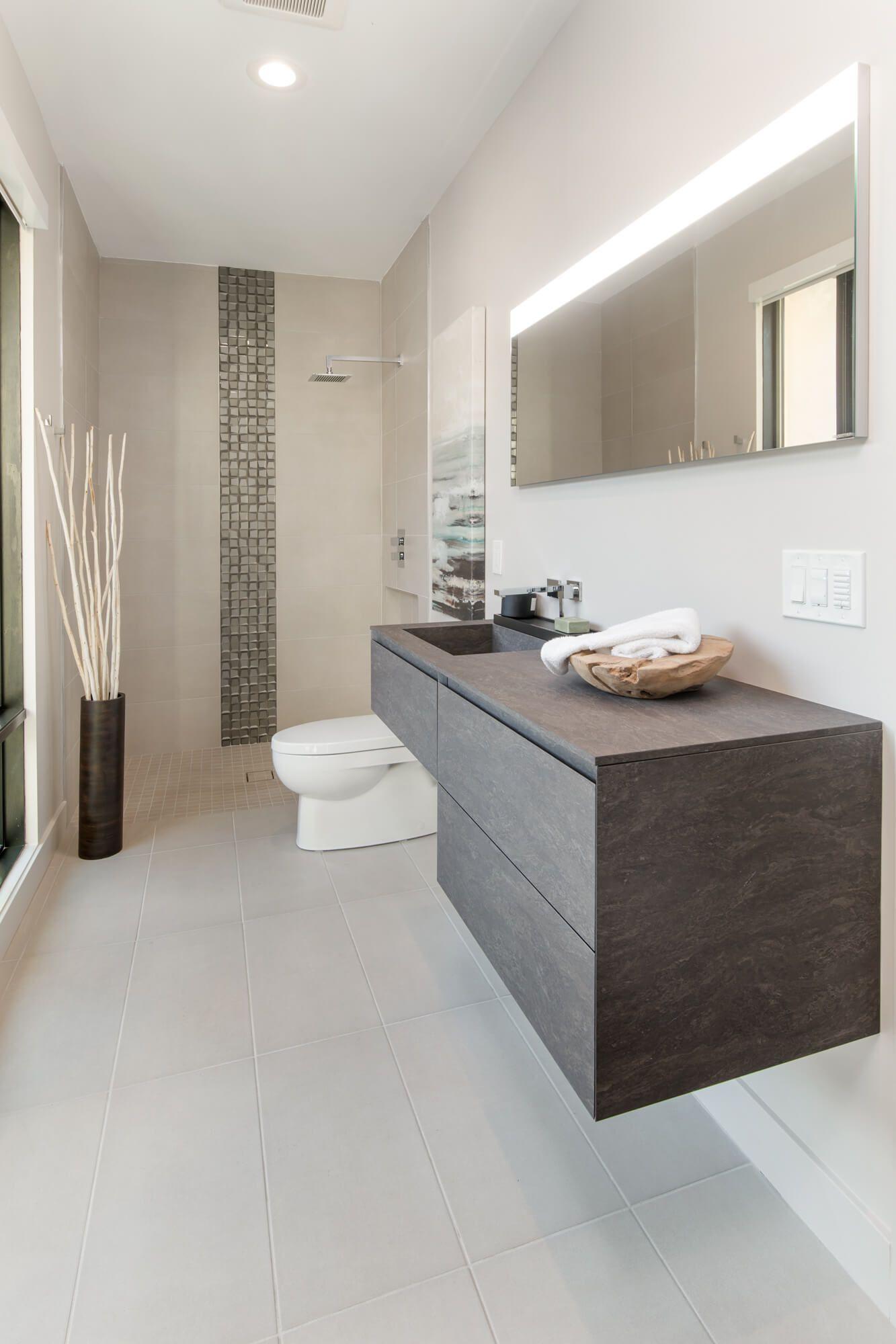 Custom contemporary bathroom designed by Interior Designer, RM Interiors of Cincinnati Ohio.