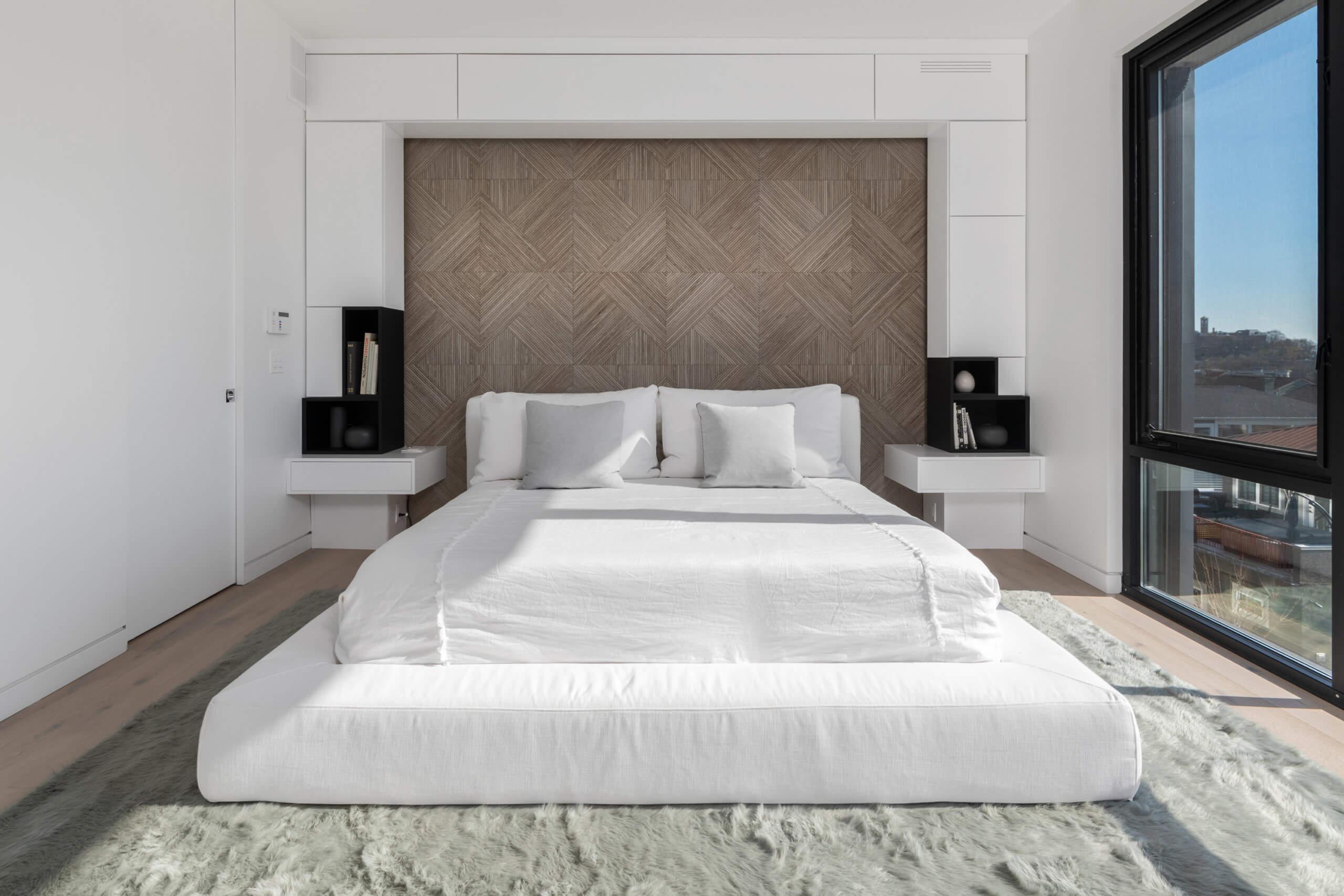 Modern and Minimal Bedroom by Cincinnati Interior Designer RM Interiors